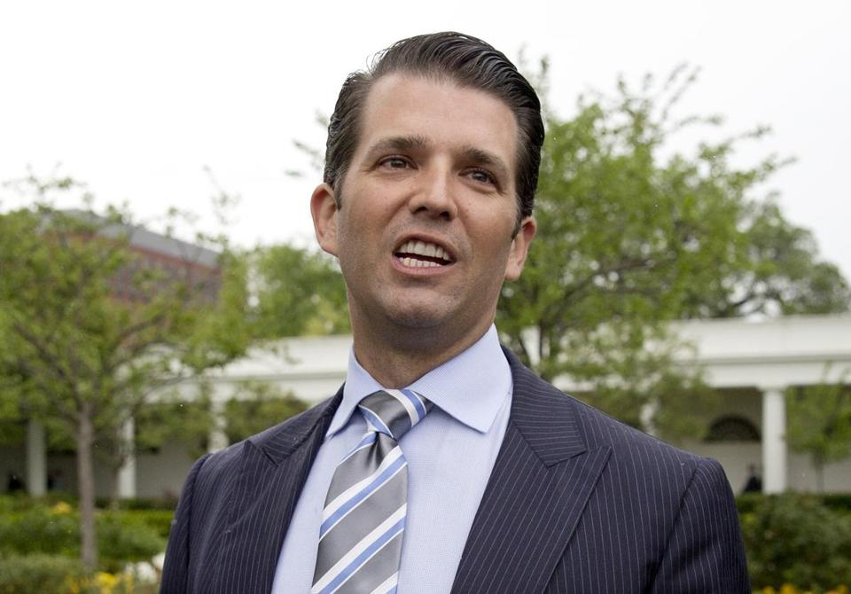 Donald Trump Jr. deflected multiple questions during the interview with the Senate Judiciary Committee last year.