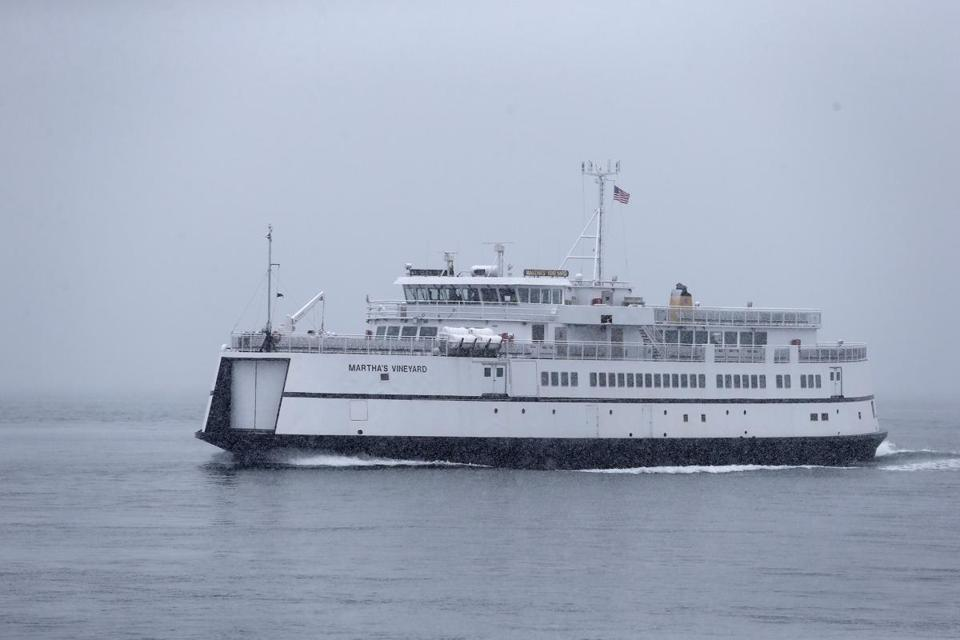 To replace a sidelined ferry, the agency deployed another boat, called the M/V Martha's Vineyard, though officials noted that the fill-in boat was running behind schedule.