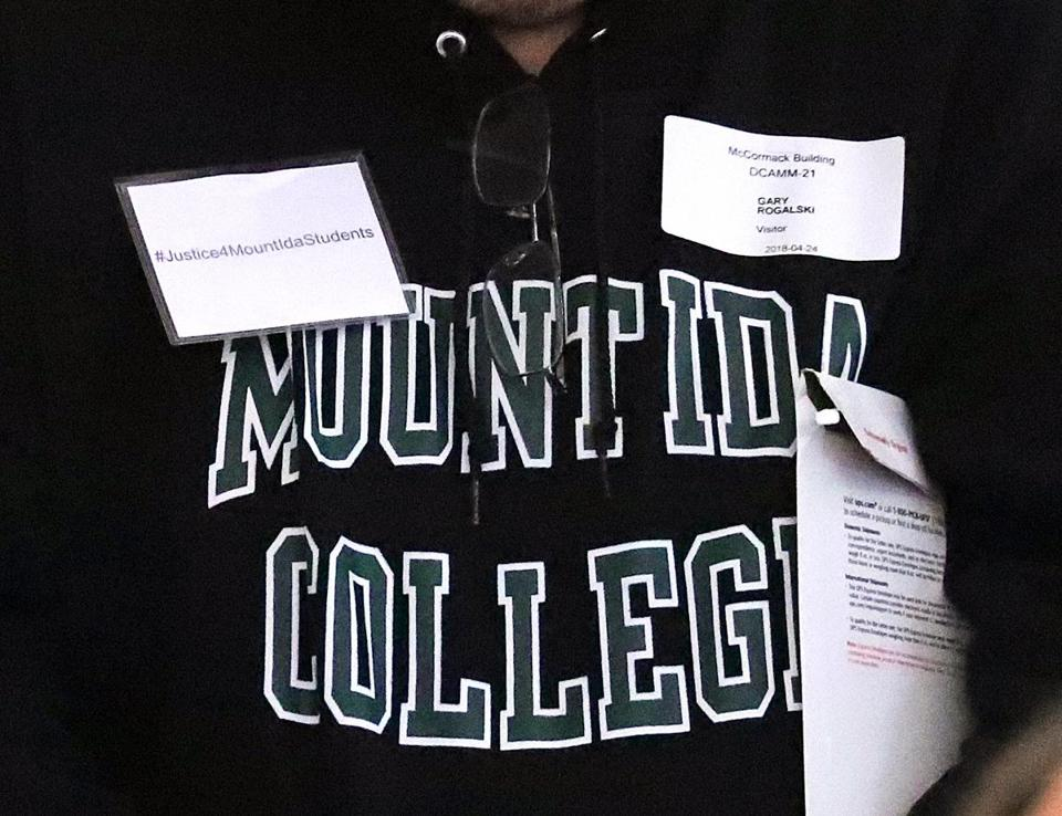 At Mount Ida, a mysterious benefactor with ties to the