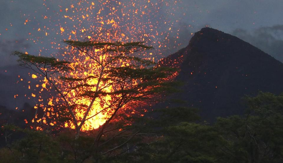 Lava Spatter Hits Hawaii Man And Shatters His Leg In First Known Injury From Kilauea Volcano