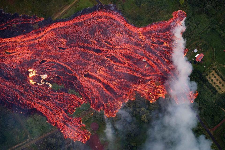 Eruption of Hawaii's Kilauea volcano