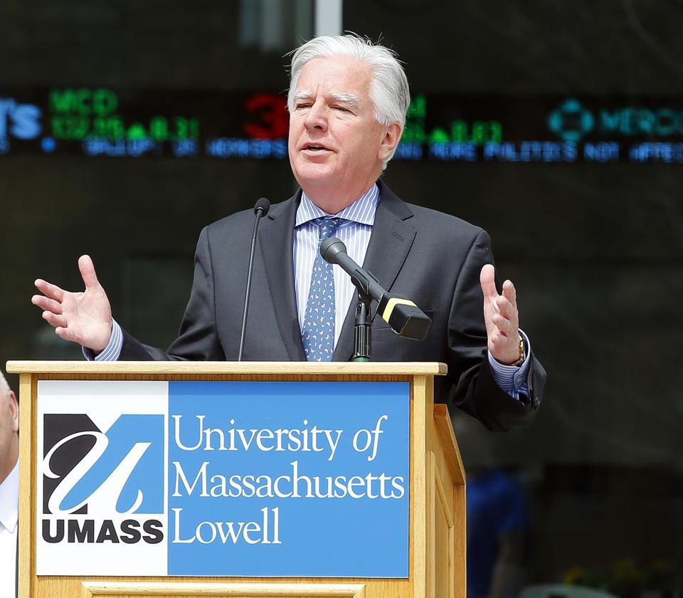 "Wrote Martin T. Meehan, president of the UMass system: ""The very public way this search came to an end . . . renders a new search untenable at this time.''"