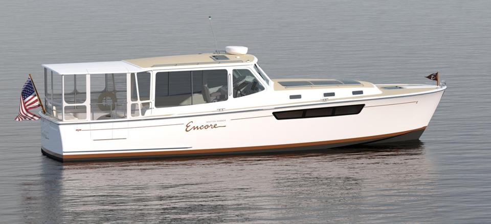 The Encore Boston Harbor casino has commissioned three motor yachts to provide ferry service between its Everett gambling complex and the Boston waterfront.