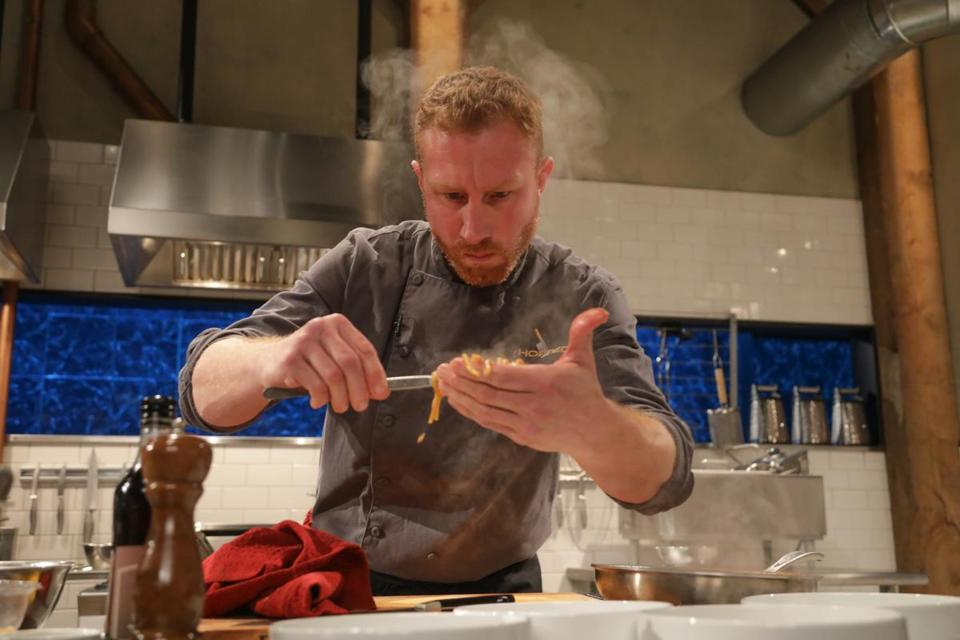 Spoiler alert this new england chef made the cut on chopped the evan hennessey chef owner of stages in dover nh competing on food network forumfinder Image collections
