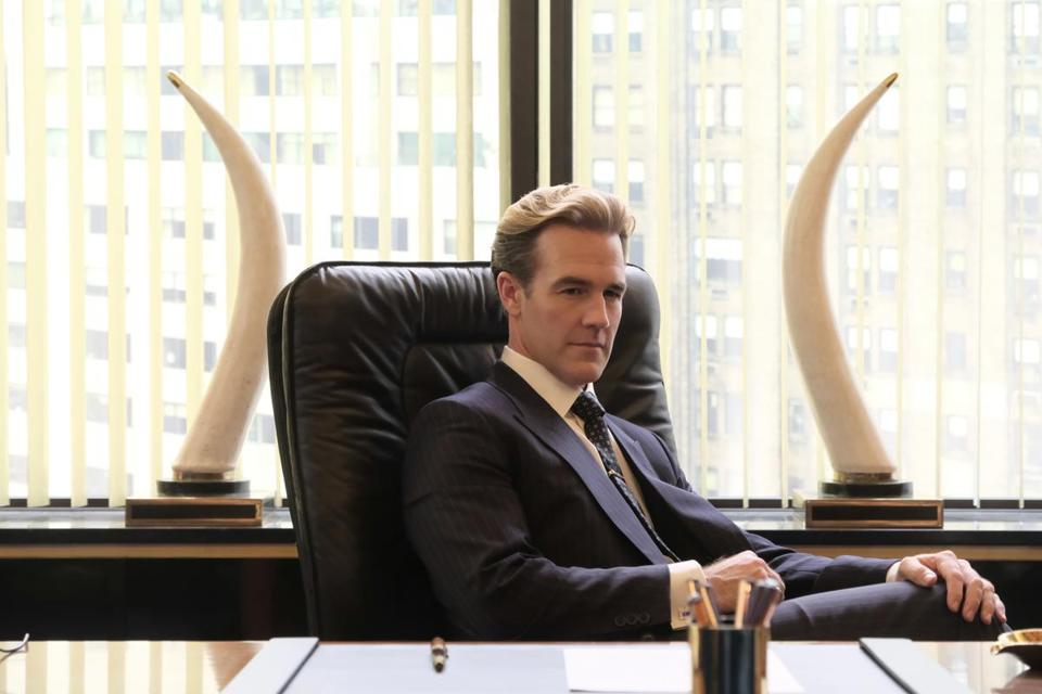 "FX network series POSE -- ""Pilot"" -- Season 1, Episode 1 (Airs Sunday, June 3, 9:00 p.m. e/p) Pictured: James Van Der Beek as Matt Bromley. CR: JoJo Whilden/FX"