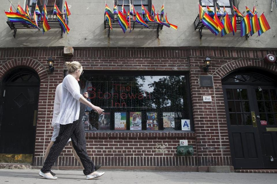 The Stonewall Inn in Manhattan's Greenwich Village in 2015.