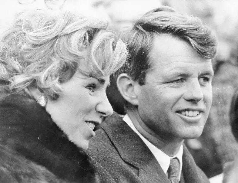 Robert and Ethel Kennedy on Nov. 24, 1962.