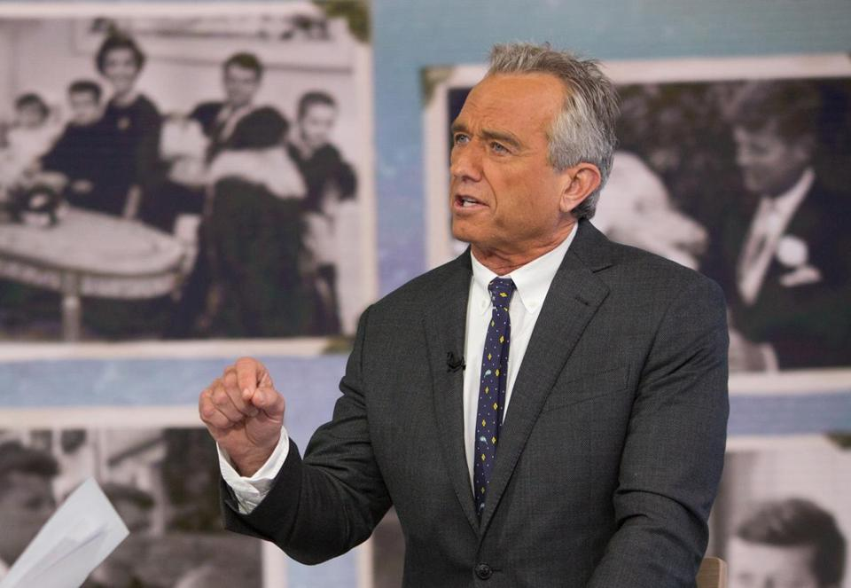 Robert F. Kennedy Jr., as pictured earlier this month.