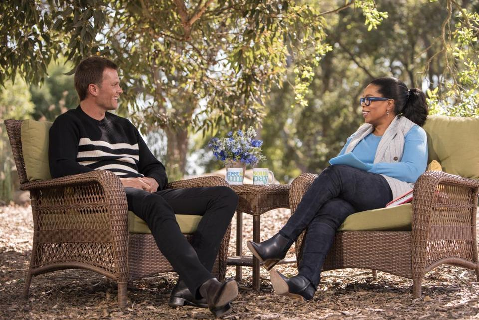 Tom Brady and Oprah Winfrey