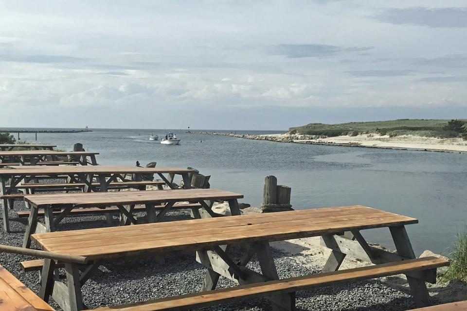 10cape The View From Tables At Sesuit Harbor Cafe In Dennis Can