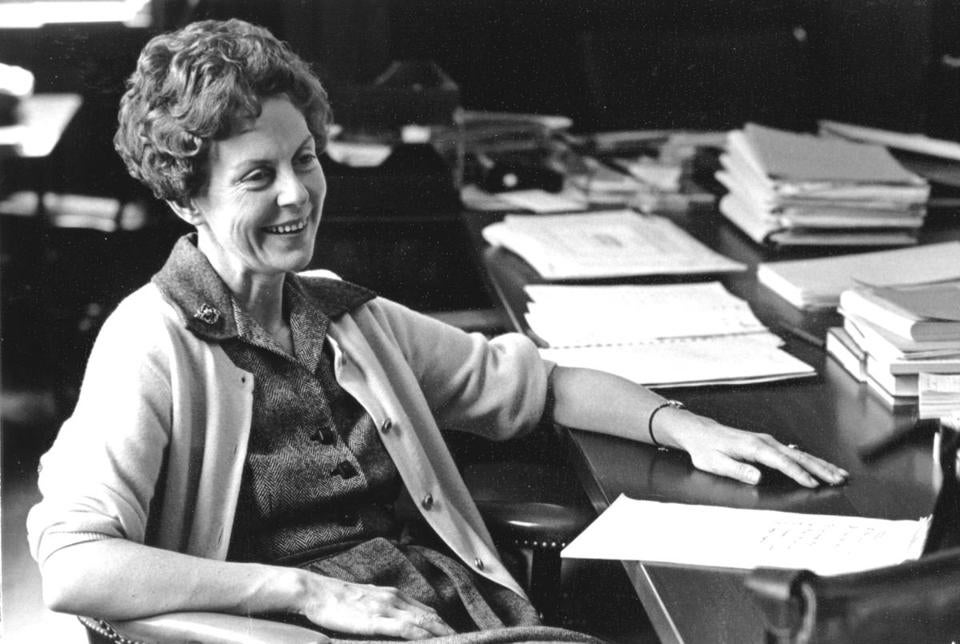 Initiatives Dr. Conway pioneered as Smith's president from 1975 to 1985 continue to open doors for women decades later.