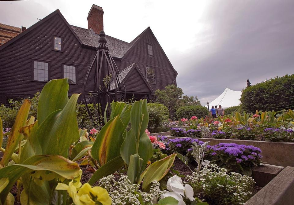 Salem, MA - 6/02/2018 - The House of Seven Gables is celebrating its 350th anniversary. - (Barry Chin/Globe Staff), Section: Regional/All Zones, Reporter: James Sullivan, Topic: 24zogables, LOID: 8.4.2123146174.
