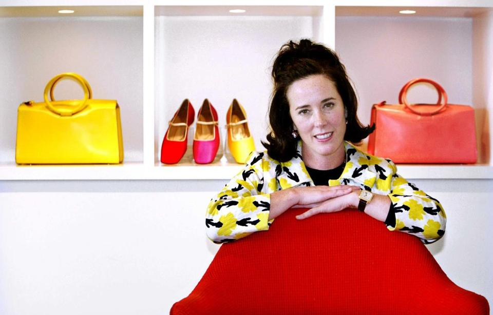 Kate Spade made her name with the cute, clever bags that were an instant hit with career women.