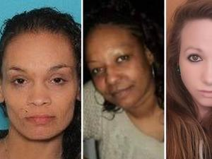 Springfield victims America Lyden aka America Canales (left), Ernestine Ryans and Kayla Escalante. (Springfield Police Department, left, Handout and Facebook)