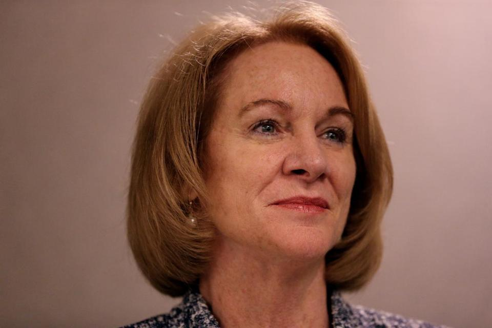 Boston, MA - June 08, 2018: Seattle Mayor Jenny Durkan during panel discussion on housing at the United States Conference of Mayors 86th Annual Meeting at Marriott Copley Place in Boston, MA on June 08, 2018. (Craig F. Walker/Globe Staff) section: metro reporter: