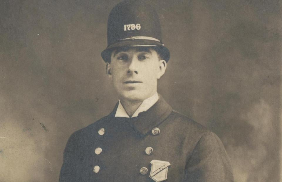 Patrolman Darby Goode was assigned to a West Roxbury division when he went on strike in 1919.