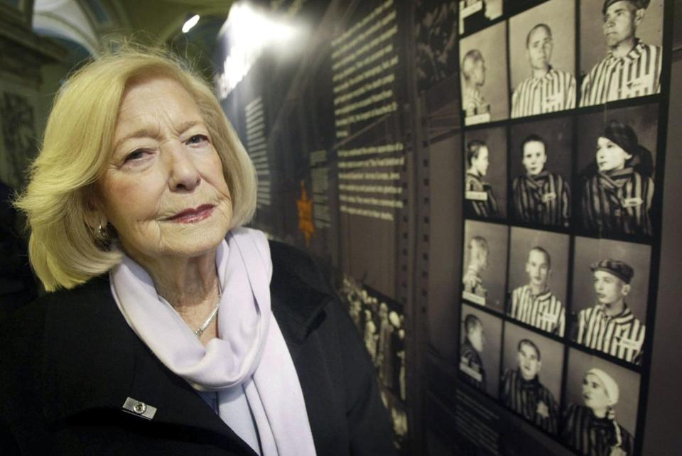 Ms. Turgel married one of the liberators of the Bergen-Belsen concentration camp, Norman Turgel.