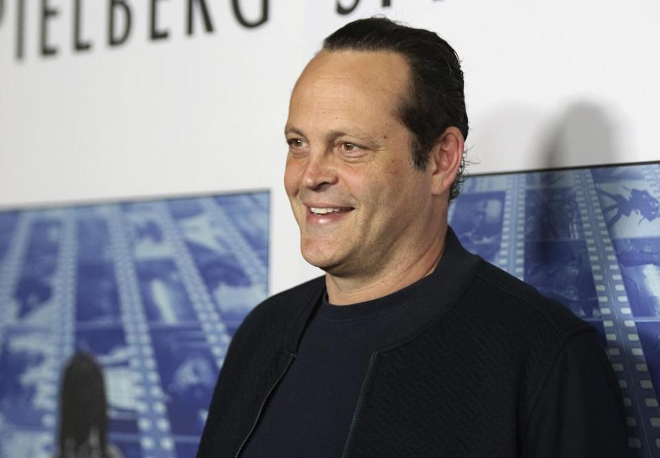 "FILE - In this Sept. 26, 2017, file photo, actor Vince Vaughn arrives at the Los Angeles premiere of ""Spielberg"" at Paramount Studios in Los Angeles. Police say actor Vaughn was arrested on suspicion of drunken driving and resisting arrest in a Southern California beach town. Manhattan Beach police said Vaughn was arrested Sunday morning, June 10, 2018, at a sobriety checkpoint. (Photo by Willy Sanjuan/Invision/AP, File)"