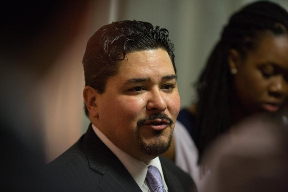 Said New York schools chancellor Richard Carranza: ''I just don't buy into the narrative that any one ethnic group owns admission to these schools.''