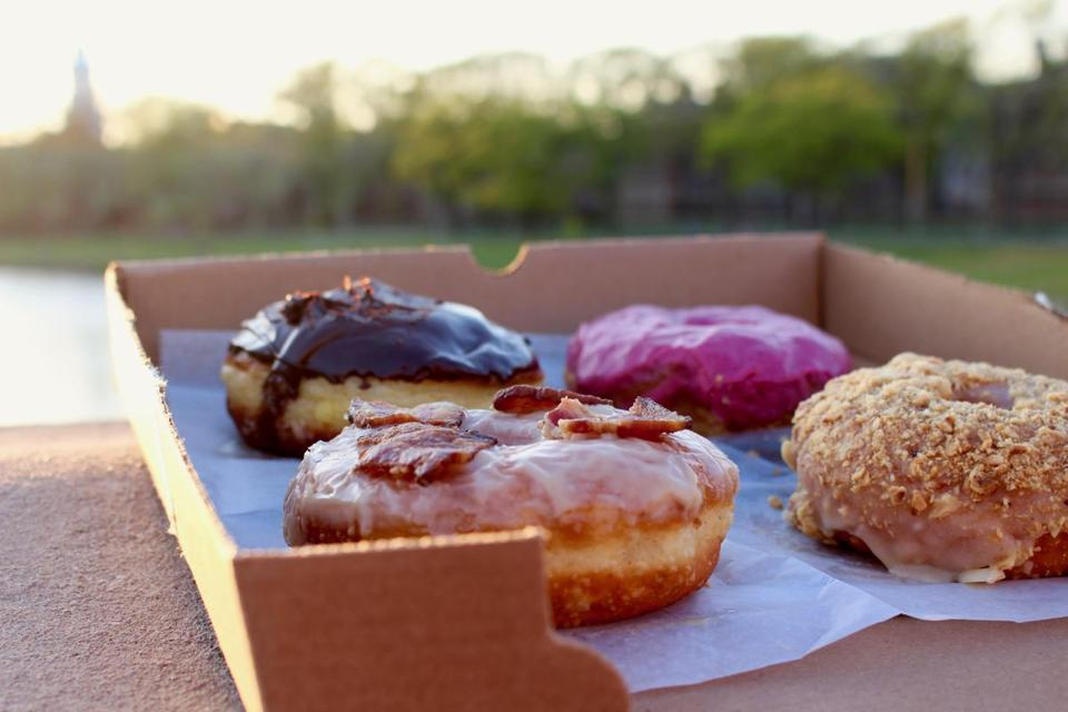 13breaktime -- Schoen and Shu's donut shop will feature food from several wholesale providers including Union Square Donuts. (Jake Schwencke)