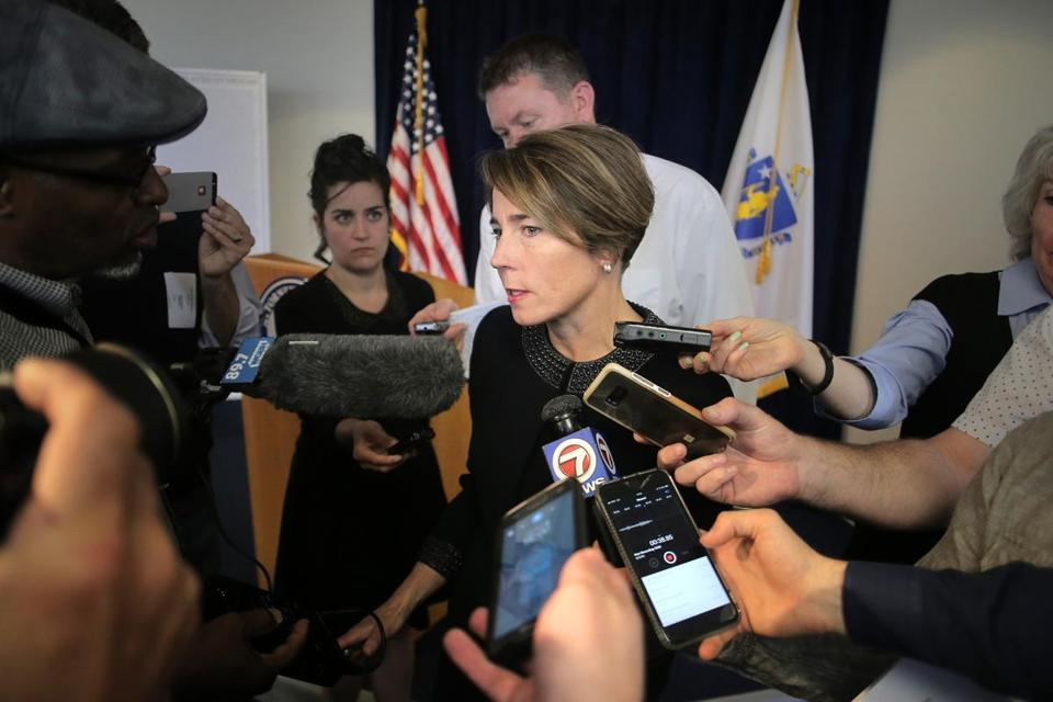 Attorney General Maura Healey announced a lawsuit against Purdue Pharma, maker and marketer of prescription opioids, after an investigation showed over 670 Massachusetts residents have died from their drugs.