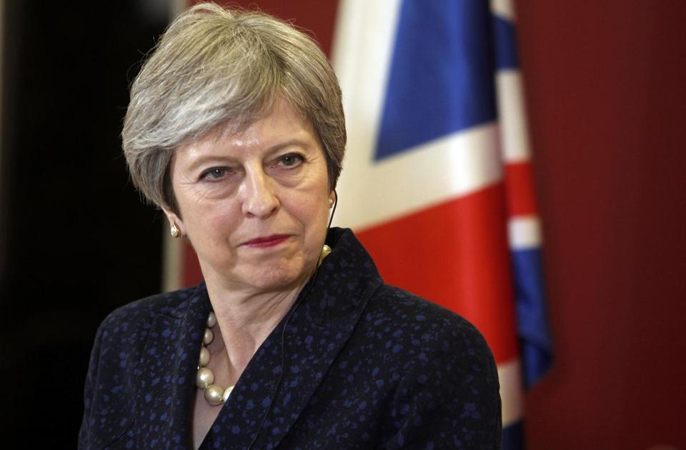 Tuesday started poorly for British Prime Minister Theresa May, then it got steadily worse.