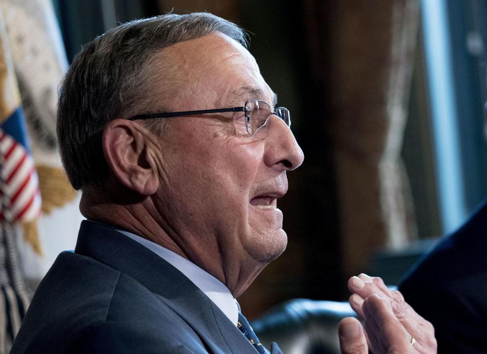 Main Governor Paul LePage.
