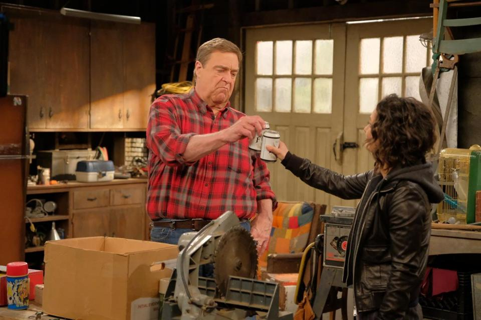 "John Goodman and Sara Gilbert are two of the ""Roseanne"" cast members around whom a Roseanne Barr-less spinoff could center."