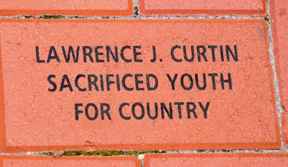 A commemorative brick honoring Beverly Beckham's father. The Road to Victory Brick Program is a permanent tribute at the National World War II Museum in New Orleans.