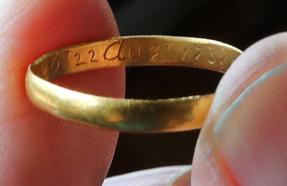 Gayle Griffiths Fraser recently rediscovered a ring dating to 1737.