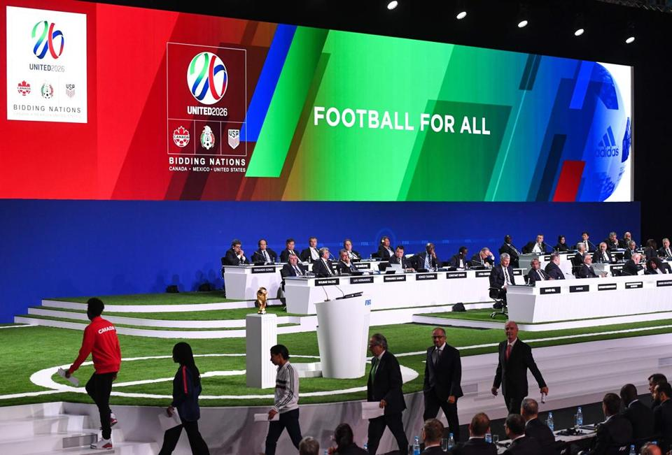 The United 2026 bid gave its final presentation Wednesday before the FIFA Congress.