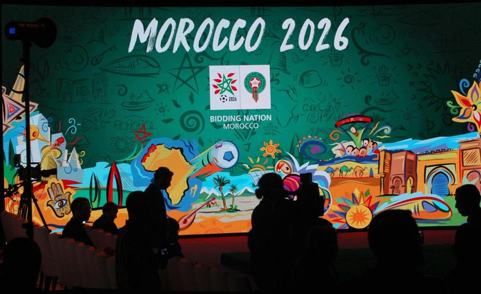 The bid groups for Morocco and North America wil find out Wednesday who will be hosting the 2026 World Cup.