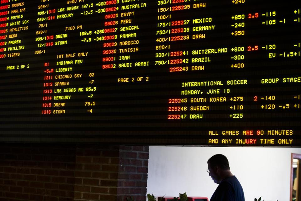 There is no shortage of wagering options.