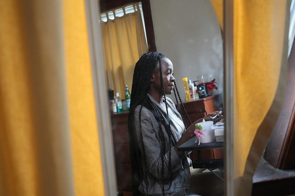 "Vanessa Okumu, a 26-year-old asylum seeker, fled her home in Uganda because ""I couldn't take the constant harassment."""