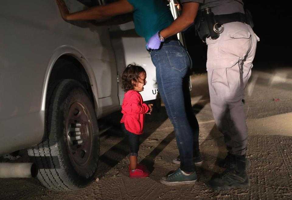 This 2-year-old Honduran girl was one of 2,300 children separated from parents at the border in the last month.