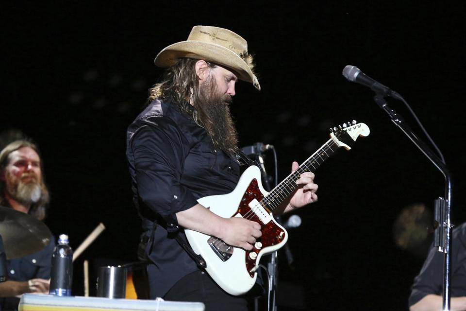 Artist Chris Stapleton performs at the 2018 CMA Music Festival at Nissan Stadium on Saturday, June 9, 2018 in Nashville, Tenn. (Photo by Laura Roberts/Invision/AP) 24ticketfolk