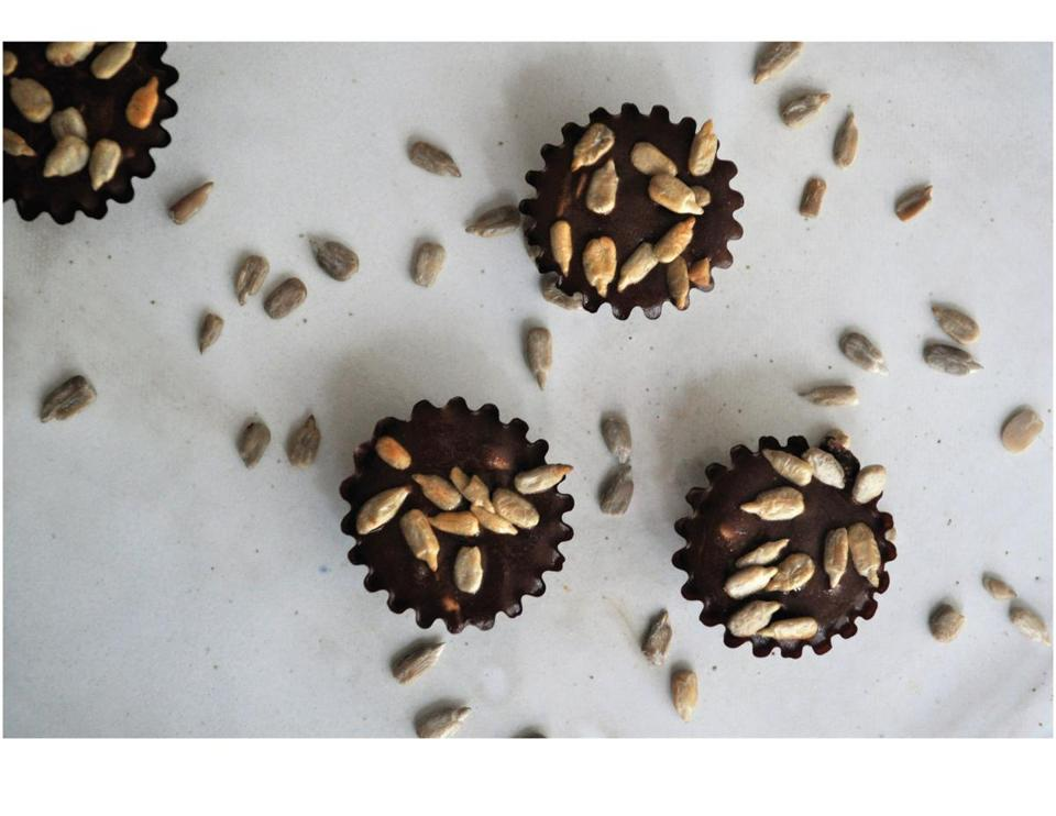 Chocolate truffles from Sweet Tahini