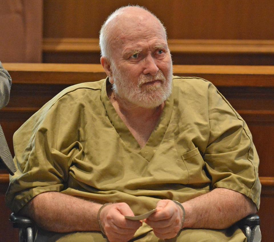 Wayne Chapman, shown during a court appearance earlier this year.