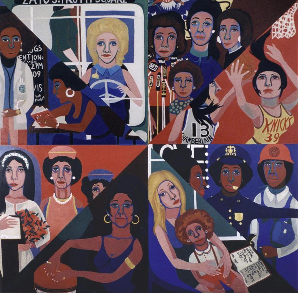 "Faith Ringgold's ""For the Women's House."""