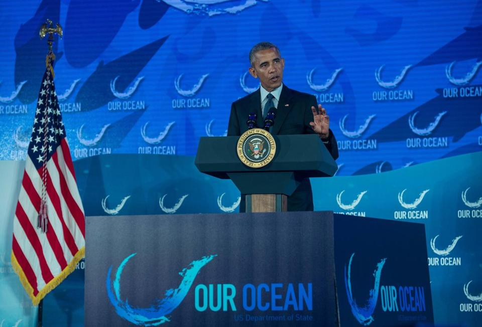 An executive order by President Obama established the first national ocean policy and made protecting coastal waters and the Great Lakes a priority.