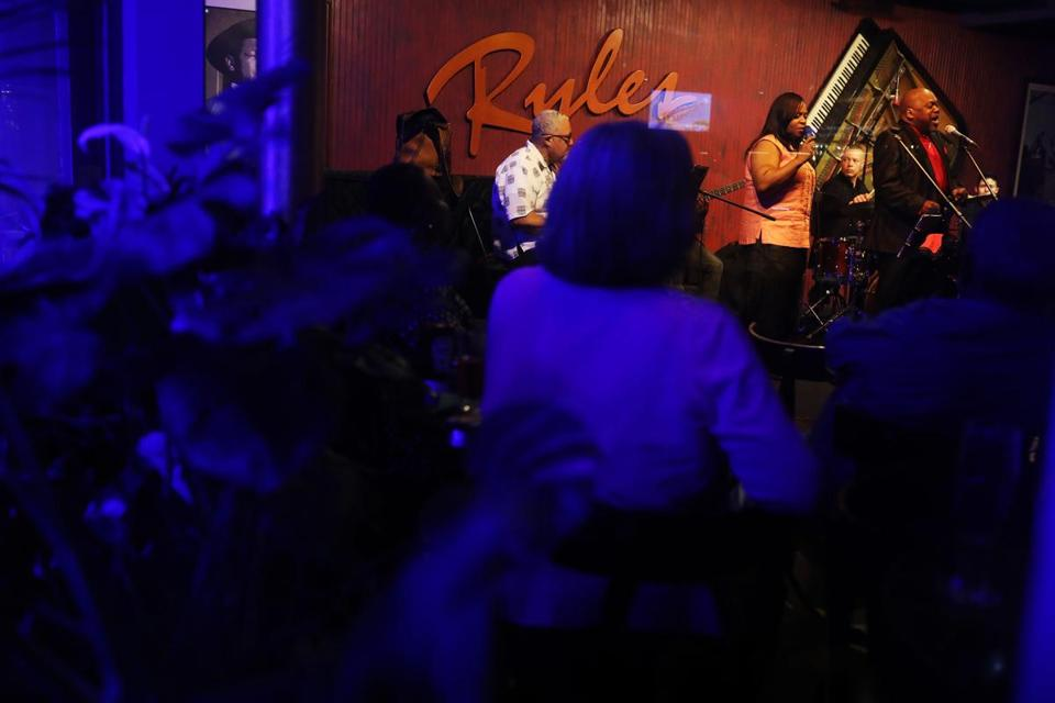 CAMBRIDGE, MA - 06/21/2018 Athene Wilson and Friends Band performs at Ryles Jazz Club for the last time. The club is closing at the month's end after 40 years. Erin Clark for the Boston Globe