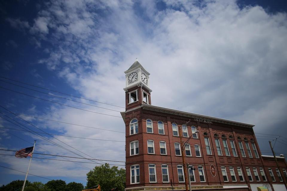 Last year a nonprofit group spent $60,000 to restore a 100-foot-tall clock tower that is a local landmark.
