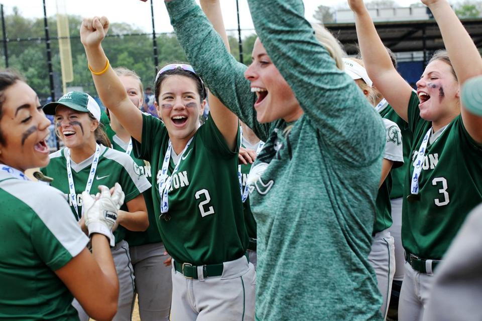 Abington defeated Turner Falls in the Division 3 softball championship game.