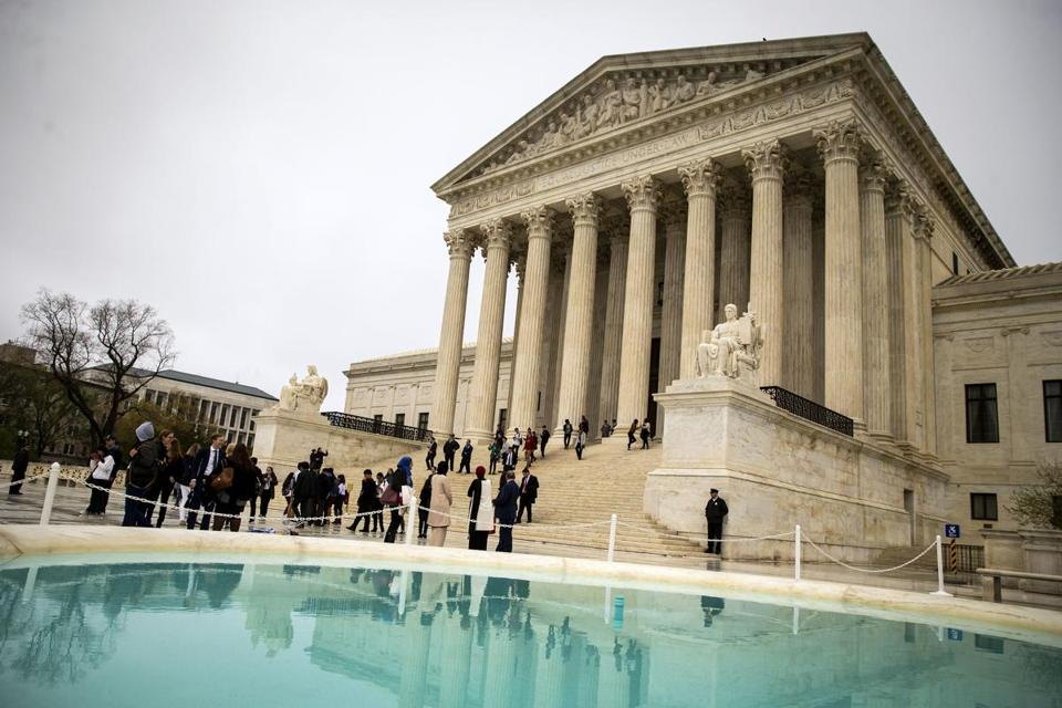 The Supreme Court ruled that it was unconstitutional to require government employees to pay union fees.