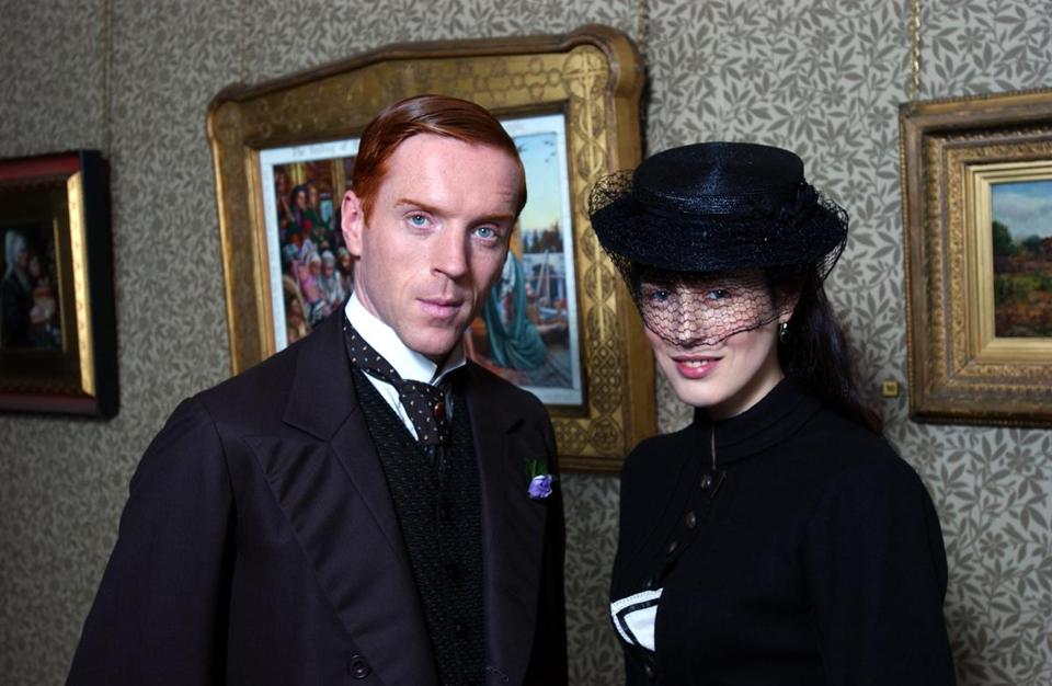 "Damian Lewis starred as Soames Forsyte (Gina McKee played his wife) in the 2002 miniseries ""The Forsyte Saga."""