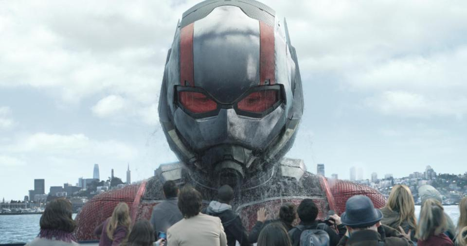 "Paul Rudd returns as Ant-Man/Scott Lang in ""Ant-Man and the Wasp."""