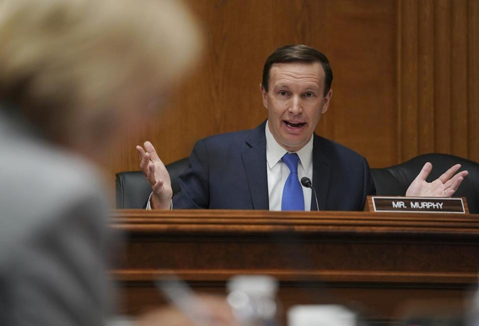 """I didn't think that our enthusiasm could get bigger, but a tempest is coming,"" said Senator Chris Murphy, a Democrat from Connecticut."