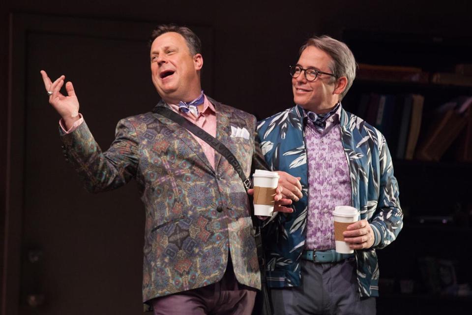 Brooks Ashmanskas (left) And Matthew Broderick In U201cThe Closetu201d At  Williamstown Theatre