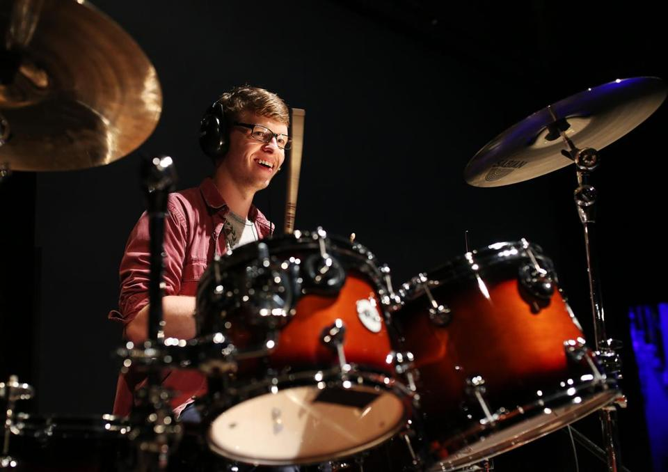 Tyler Pedersen and the four other finalists will perform solos Saturday at The Lawn on D.