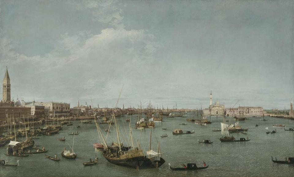 Bacino di San Marco, Venice Canaletto (Giovanni Antonio Canal) (Italian (Venetian), 1697Ð1768) about 1738 Oil on canvas * Abbott Lawrence Fund, Seth K. Sweetser Fund, and Charles Edward ?French Fund * Photograph © Museum of Fine Arts, Boston 08casanova CasanovaÕs Europe: Art, Pleasure, and Power in the 18th Century July 8-October 8, 2018.